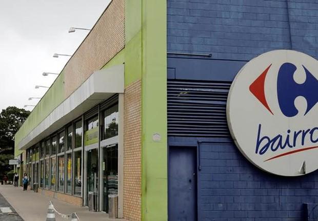 Loja do Carrefour em São Paulo (Foto: Paulo Whitaker/Reuters)