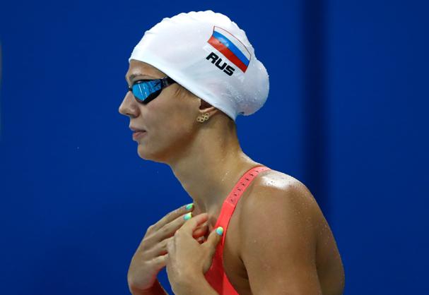 Yulia Efimova, nadadora russa (Foto: Getty Images)