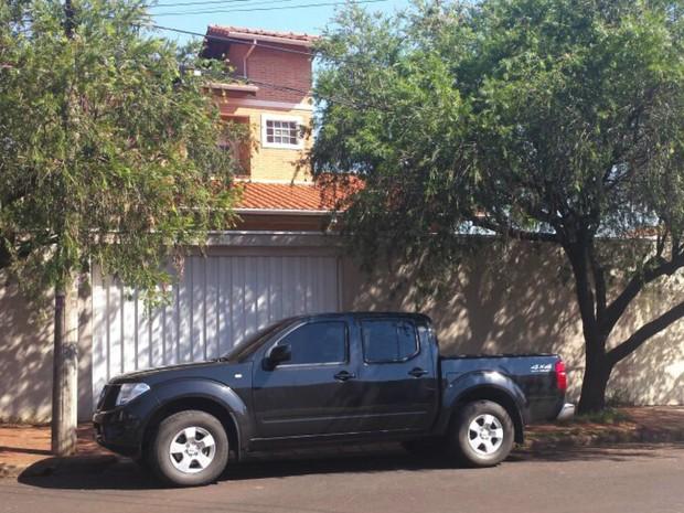Fachada da casa do ex-ministro Antonio Palocci em Ribeirão Preto (SP) (Foto: Bruna Luchini/EPTV)