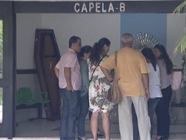 velório mãe de gilberto gil (Foto: Imagens / TV Bahia)
