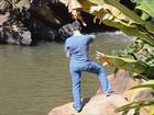 Corpo de rapaz é encontrado após afogamento em cachoeira de Cristina