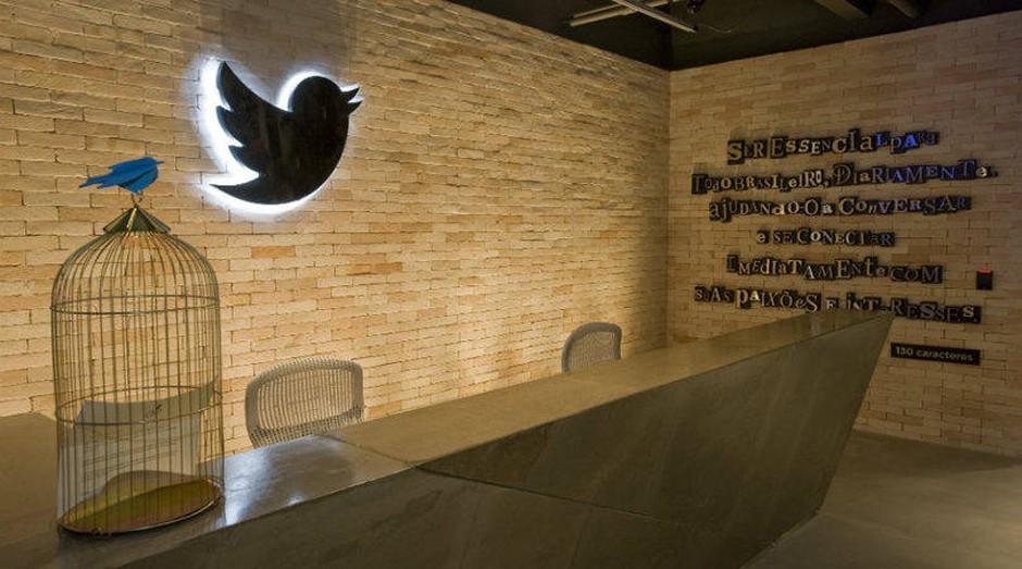 Sede do Twitter em São Paulo. Empresa pode ser vendida (Foto: Divulgação)