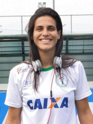 Atacante capixaba Nathane, ex-Iranduba, assina com o Flamengo (Foto: Divulgação/Arquivo Pessoal)