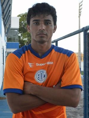 Atacante Diego Ceará, Confiança (Foto: Osmar Rios)