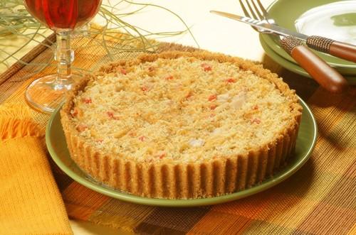 Torta de Frango com Palmito