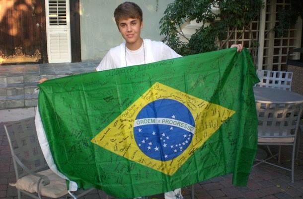 Justin Bieber, o gringo mais amado do Brasil. Pelo menos na msica (Foto: Reproduo/Instagram)