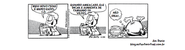 Tirinha do Garfield (Foto: Jim Davis)