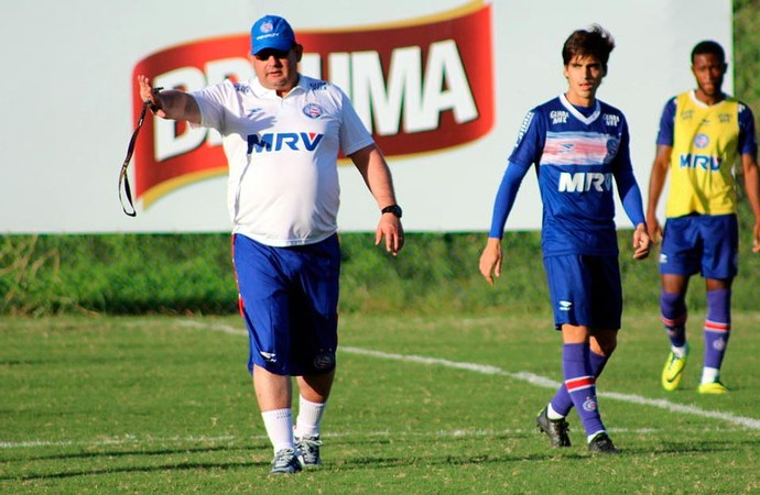 Guto Ferreira; Bahia; Gustavo Blanco (Foto: Divulgação/EC Bahia)
