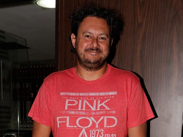 Diretor geral Gustavo Fernandez chegou à festa feliz pelo trabalho realizado (Foto: Felipe Monteiro/Gshow)