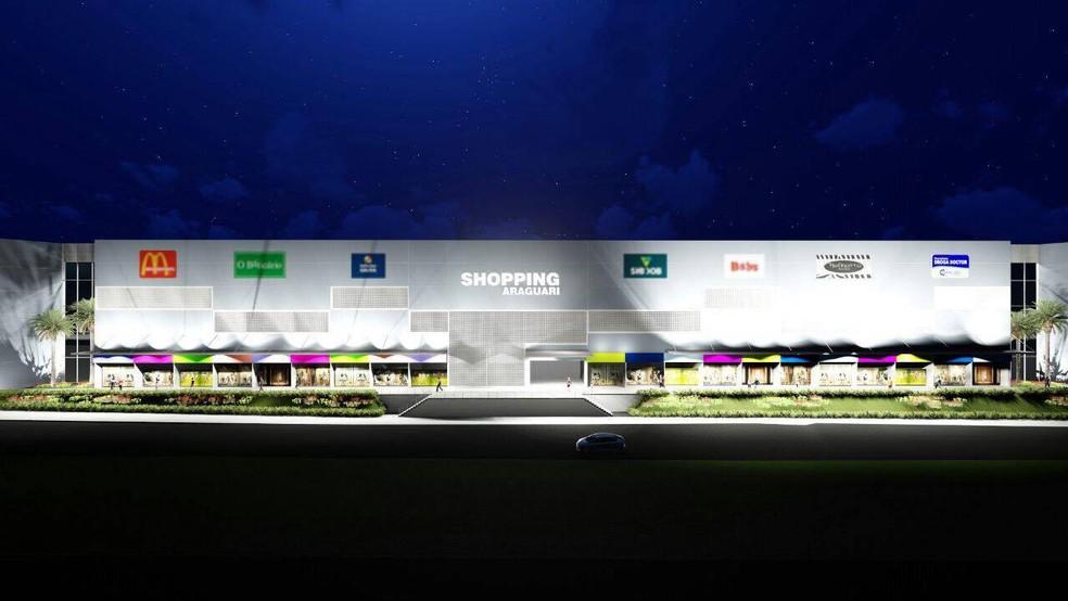Projeto do Strip Mall foi enrtregue esta semana (Foto: MAP Mall/Divulgação)