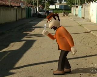 Zé do Bairro no distrito de Engenheiro Passos (Foto: Reprodução: RJTV 1ª Edição)