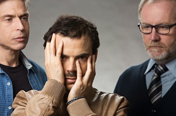 No elenco, Chico Carvalho, Henrique Schafer e Rubens Caribé (Foto: Divulgação)