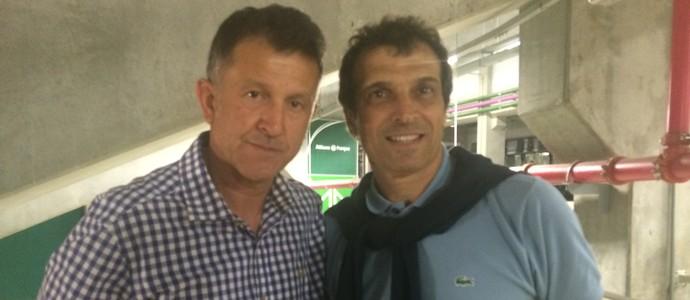 Juan Carlos Osorio e Milton Cruz - São Paulo (Foto: Marcelo Hazan)