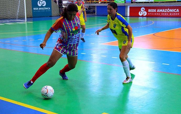 Copa Rede AM de Futsal, final feminina, ninhos de aguia, manaus moderna (Foto: Gabriel Mansur)