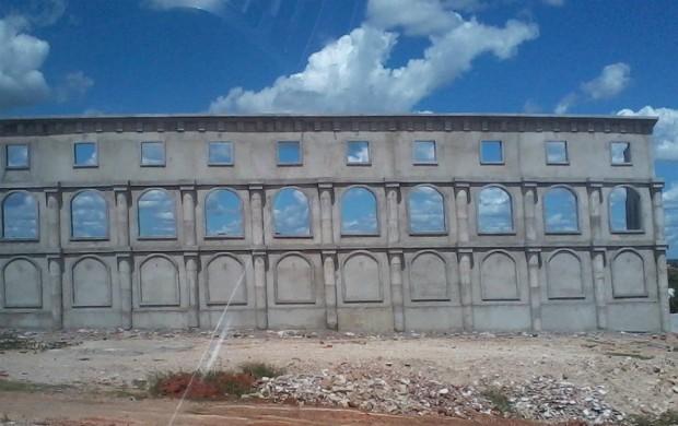 Fachada do Estádio Municipal de Alto Santo (Foto: Divulgação/Prefeitura de Alto Santo)