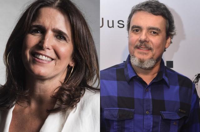 Malu Mader e Cássio Gabus Mendes (Foto: TV Globo)