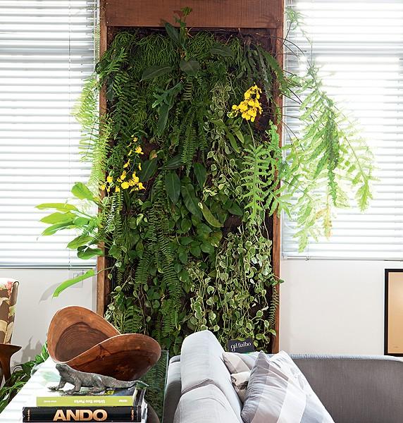 jardim vertical apartamento pequeno:Jardim vertical: 25 ideias para montar o seu – Casa e Jardim