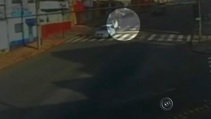 Acidente deixa motociclista ferido em Botucatu