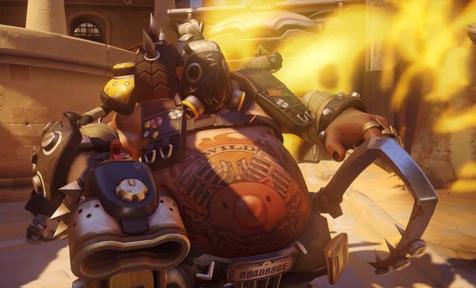 Roadhog em Overwatch (Foto: Divulgação/Blizzard)