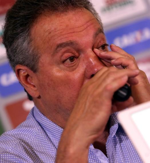 """uma boa"" (Nelson Perez/Fluminense FC)"