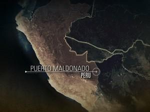 Mapa (Foto: TV Globo)