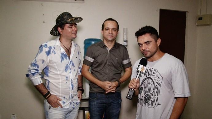 Nos bastidores, a dupla Fran e Diego contam como também começaram. (Foto: Se Liga VM)