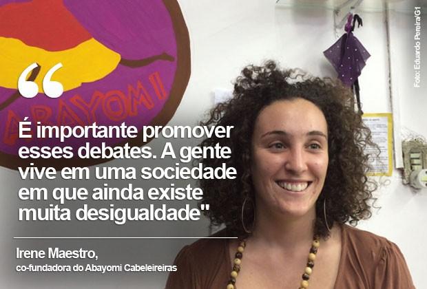 Irene Maestro, aspas (Foto: Eduardo Pereira)