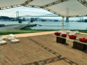 Estrutura será montada no Parque Náutico para receber público  (Foto: Divulgação)