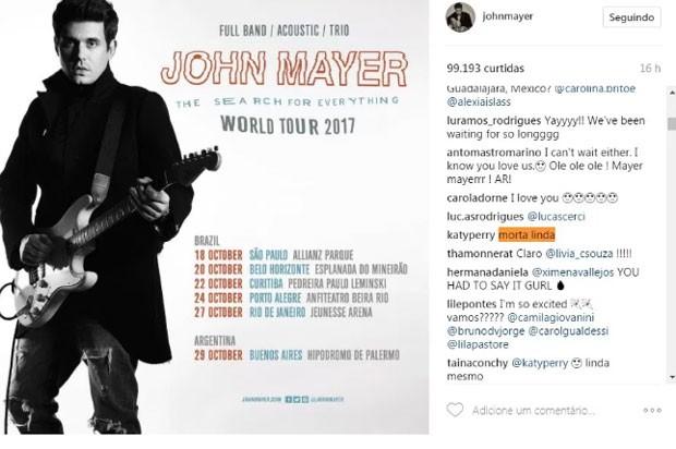 John Mayer (Foto: Reprodução)