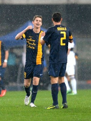 Jorginho e Romulo Hellas Verona (Foto: Getty Images)