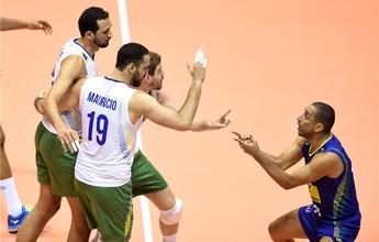 Com tranquilidade, Brasil se impõe e vence a Bulgária na Liga Mundial