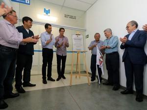 Secretário estadual de Meio Ambiente, Ricardo Salles, inaugurou novo prédio da Cetesb em Mogi das Cruzes (Foto: Guilherme Berti/Prefeitura de Mogi das Cruzes)