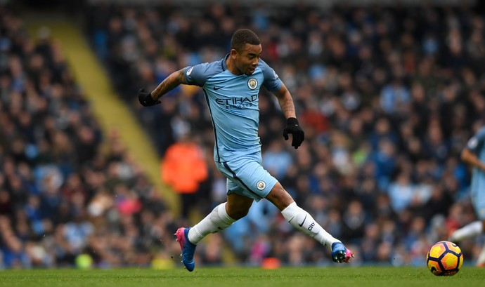 Gabriel Jesus Manchester City Swansea (Foto: Stu Forster/Getty Images)