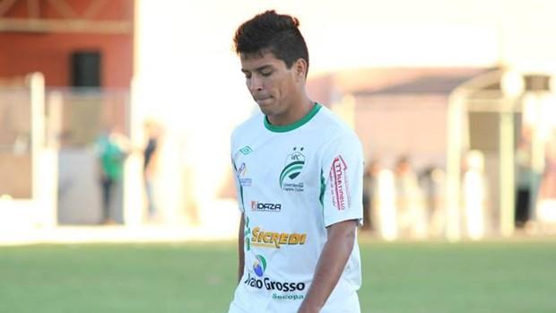 Atacante Tozin dispensado do Luverdense (Foto: Assessoria/Luverdense Esporte Clube)