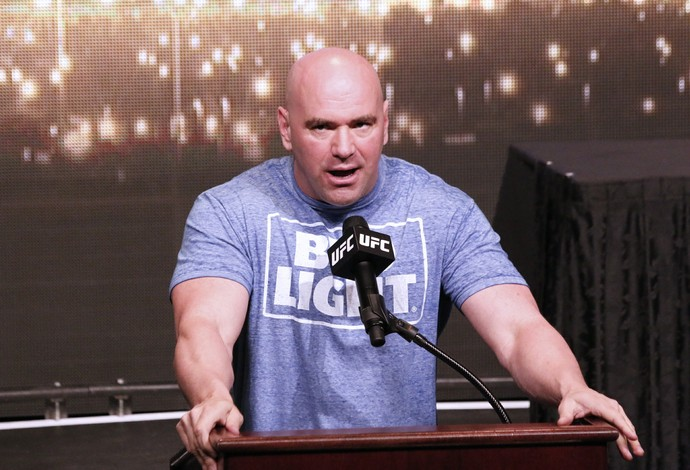 Dana White (Foto: Evelyn Rodrigues)