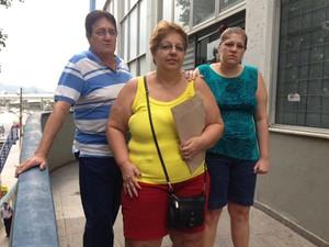 Paciente não conseguiu ser atendida em consulta de perícia médica nesta quinta-feira (1º) na agência do Inss na Praça da Bandeira  (Foto: Káthia Mello/G1)