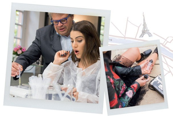 Louis Vuitton em spray (Foto:  condé nast archive, clemence firmin e divulgação ilustração: camila gray)