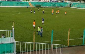 Tocantinópolis empata com o Palmas no estádio Ribeirão