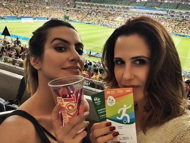 Guilhermina e Cleo (Foto: Reprodução/Instagram)