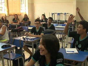 Escola municipal de Araraquara tem maior número de finalistas (Foto: Marlon Tavoni/ EPTV)