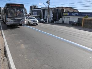 Prefeitura muda data de implantação da faixa exclusiva para ônibus em Maceió (Foto: Marco Antônio/ Secom Maceió)