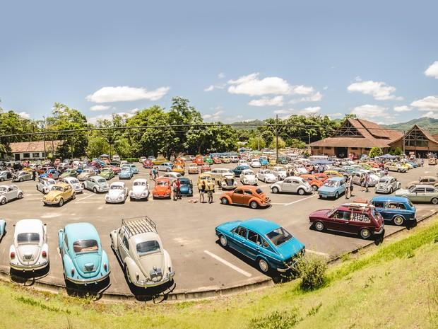 9º Encontro de Fuscas deve reunir 1,8 mil veículos (Foto: Gerson Douglas Ampessan/Divulgação)