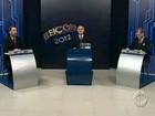 Candidatos de Maringá confrontam propostas em debate na RPC TV