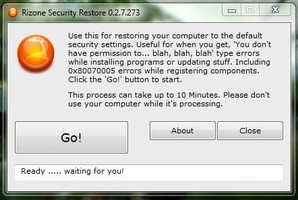 Security Restore