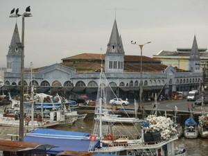 Mercado do Ver-o-Peso, em Belém (Foto: Marcelo Seabra/O Liberal)