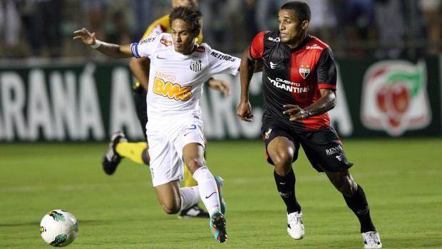 Neymar Santos x Portuguesa (Foto: Ed Ferreira / Ag. Estado)