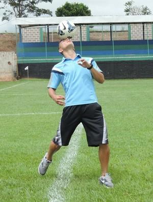 João Pedro, lateral-direito do Palmeiras (Foto: João Paulo Tilio / GloboEsporte.com)