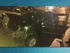 Batida entre carro e ônibus deixa motorista ferida em Volta Redonda, RJ