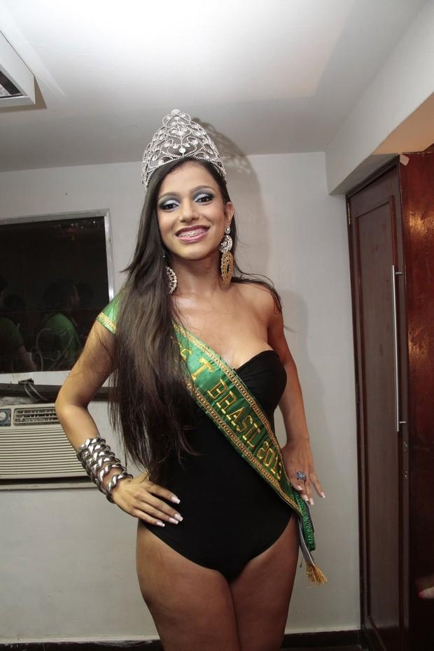 Raika Ferraz, candidata de São Paulo, vencedora do Miss Transsex Brasil 2013 (Foto: Isac Luz/ EGO)