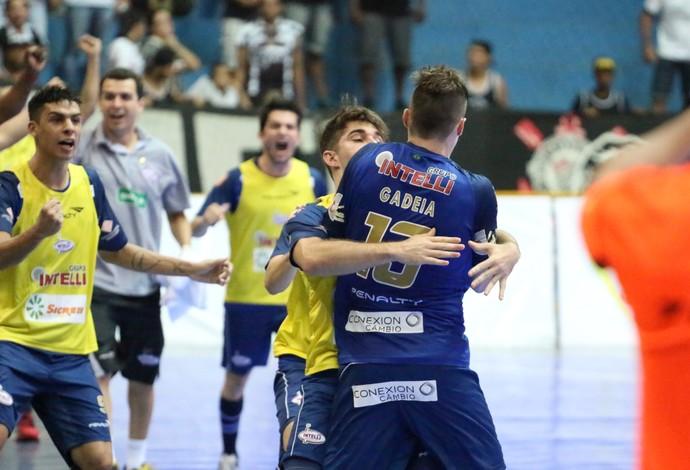 8810dcbb815a4 Gadeia comemora gol contra o Corinthians (Foto  Marcio Damião ADC Intelli)